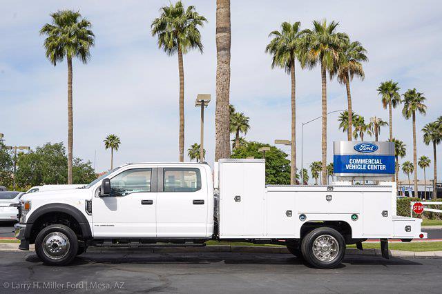 2021 Ford F-550 Crew Cab DRW 4x4, Scelzi Welder Body #21P228 - photo 6