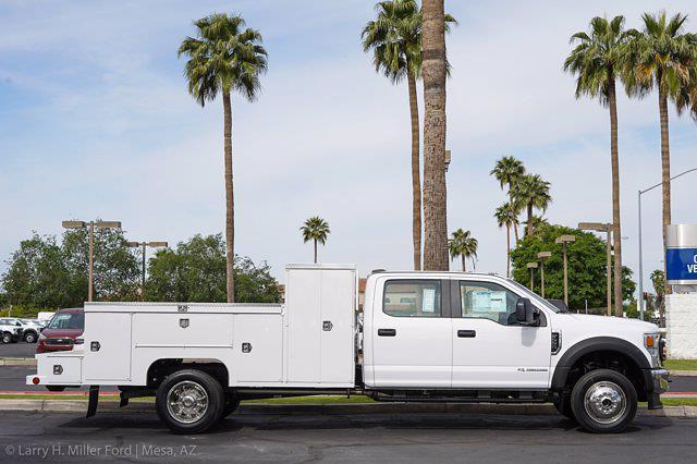 2021 Ford F-550 Crew Cab DRW 4x4, Scelzi Welder Body #21P228 - photo 12