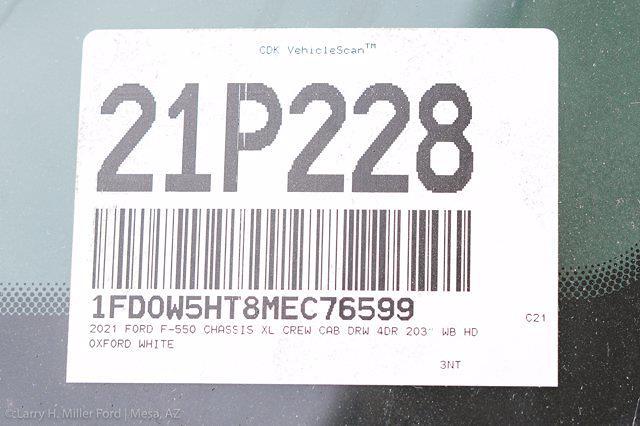 2021 Ford F-550 Crew Cab DRW 4x4, Scelzi Welder Body #21P228 - photo 30