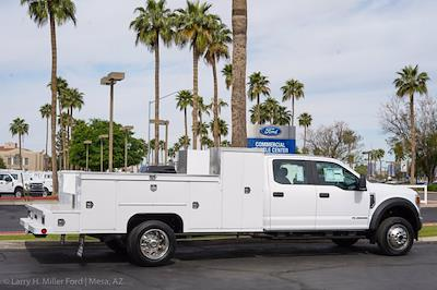 2021 Ford F-550 Crew Cab DRW 4x4, Scelzi Welder Body #21P228 - photo 11