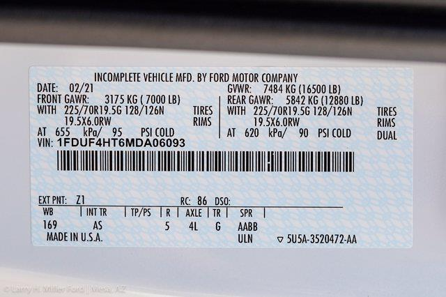 2021 Ford F-450 Regular Cab DRW 4x4, Reading Master Mechanics HD Welder Body #21P241 - photo 28