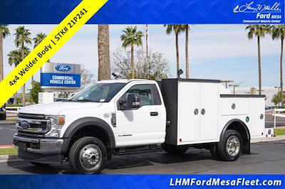 2021 Ford F-450 Regular Cab DRW 4x4, Reading Master Mechanics HD Welder Body #21P241 - photo 1