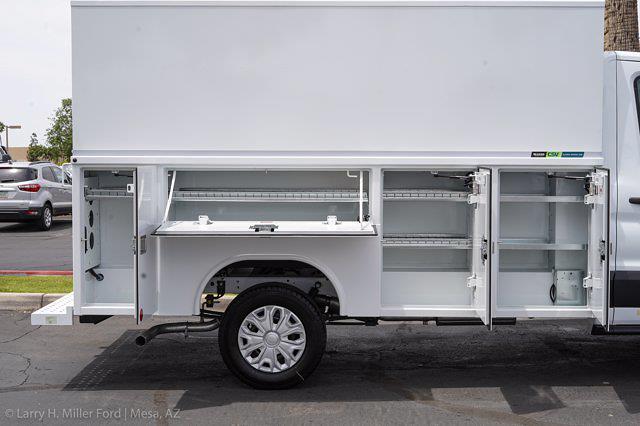 2021 Ford Transit 350 4x2, Reading Aluminum CSV Service Utility Van #21P245 - photo 16