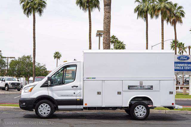 2021 Ford Transit 350 4x2, Reading Aluminum CSV Service Utility Van #21P245 - photo 3