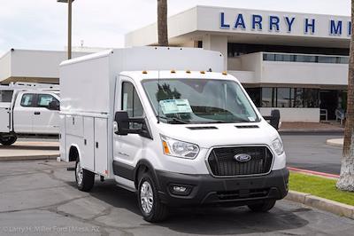 2021 Ford Transit 350 4x2, Reading Aluminum CSV Service Utility Van #21P245 - photo 17