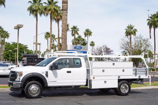 2021 Ford F-450 Super Cab DRW 4x2, Scelzi SCTFB Contractor Body #21P257 - photo 4