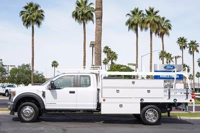 2021 Ford F-450 Super Cab DRW 4x2, Scelzi SCTFB Contractor Body #21P257 - photo 3