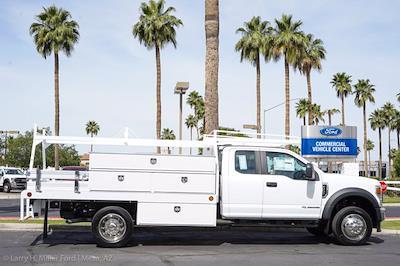 2021 Ford F-450 Super Cab DRW 4x2, Scelzi SCTFB Contractor Body #21P257 - photo 11