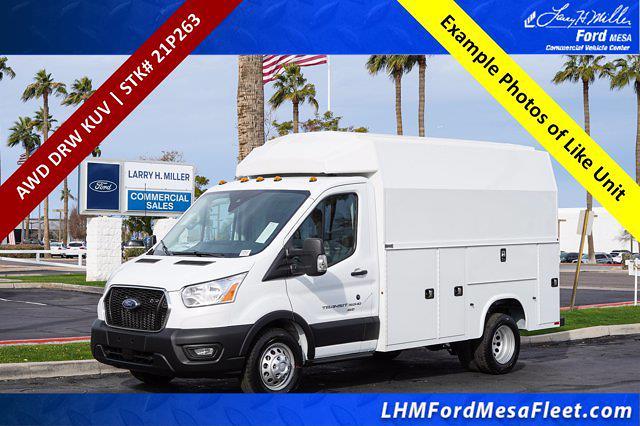 2021 Ford Transit 350 HD AWD, Knapheide Service Utility Van #21P263 - photo 1