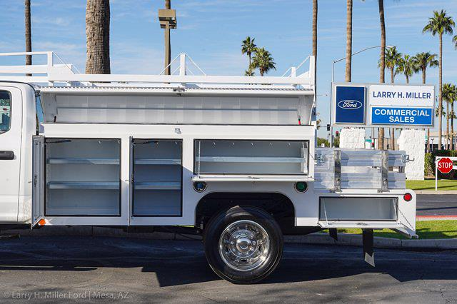 2021 Ford F-550 Crew Cab DRW 4x4, Scelzi CTFB Contractor Body #21P272 - photo 5