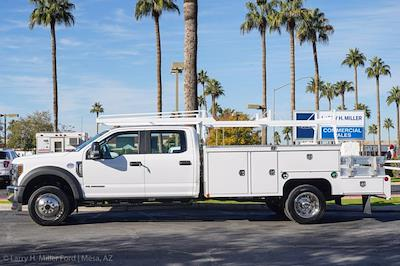 2021 Ford F-550 Crew Cab DRW 4x4, Scelzi CTFB Contractor Body #21P272 - photo 6