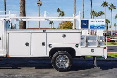 2021 Ford F-550 Crew Cab DRW 4x4, Scelzi CTFB Contractor Body #21P272 - photo 4