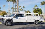 2021 Ford F-550 Crew Cab DRW 4x4, Scelzi CTFB Contractor Body #21P272 - photo 2