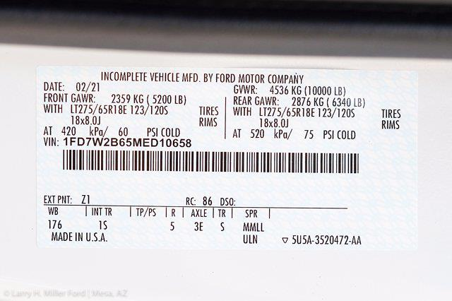 2021 Ford F-250 Crew Cab 4x4, Royal Truck Body Service Body #21P274 - photo 31