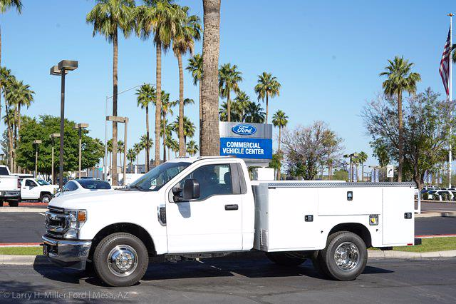 2021 Ford F-350 Regular Cab DRW 4x2, Knapheide Steel Service Body #21P278 - photo 2