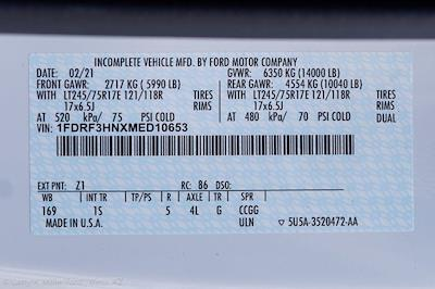 2021 Ford F-350 Regular Cab DRW 4x4, Royal Truck Body Service Body #21P285 - photo 28
