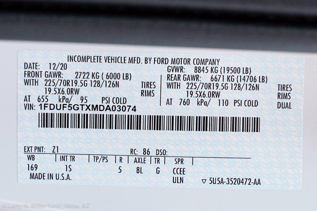 2021 F-550 Regular Cab DRW 4x2,  Knapheide PGND Gooseneck Platform Body #21P297 - photo 26