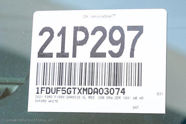 2021 F-550 Regular Cab DRW 4x2,  Knapheide PGND Gooseneck Platform Body #21P297 - photo 27