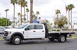 2021 Ford F-550 Crew Cab DRW 4x2, Knapheide Value-Master X Platform Body #21P305 - photo 5