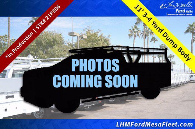 2021 Ford F-550 Crew Cab DRW 4x2, Crysteel E-Tipper Dump Body #21P306 - photo 1