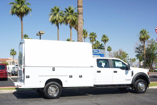 2021 Ford F-550 Crew Cab DRW 4x2, Knapheide KUVcc Service Body #21P307 - photo 13