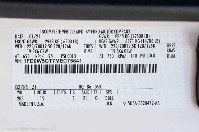 2021 Ford F-550 Crew Cab DRW 4x2, Knapheide KUVcc Service Body #21P307 - photo 30