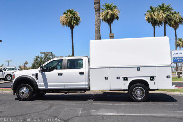 2021 Ford F-550 Crew Cab DRW 4x4, Knapheide KUVcc Service Body #21P310 - photo 4