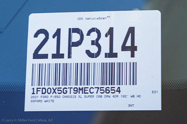 2021 Ford F-550 Super Cab DRW 4x2, Knapheide KUVcc Service Body #21P314 - photo 31