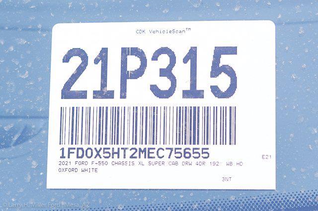 2021 Ford F-550 Super Cab DRW 4x4, Knapheide KUVcc Service Body #21P315 - photo 32