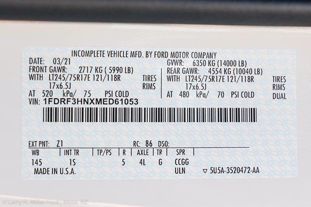 2021 Ford F-350 Regular Cab DRW 4x4, Knapheide KUVcc Service Body #21P333 - photo 29