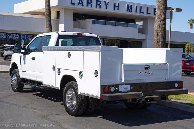 2021 Ford F-350 Super Cab DRW 4x4, Royal Truck Body Service Body #21P346 - photo 2
