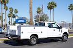 2021 Ford F-350 Super Cab DRW 4x4, Royal Truck Body Service Body #21P346 - photo 11