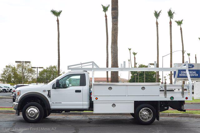 2021 Ford F-450 Regular Cab DRW 4x2, Royal Truck Body Contractor Body #21P355 - photo 3