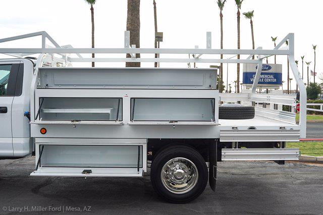 2021 Ford F-450 Regular Cab DRW 4x2, Royal Truck Body Contractor Body #21P355 - photo 7