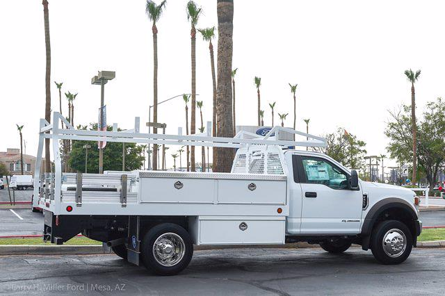 2021 Ford F-450 Regular Cab DRW 4x2, Royal Truck Body Contractor Body #21P355 - photo 10