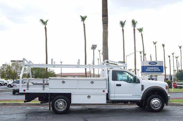 2021 Ford F-450 Regular Cab DRW 4x2, Royal Truck Body Contractor Body #21P355 - photo 11