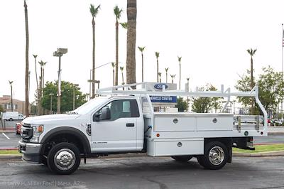 2021 Ford F-450 Regular Cab DRW 4x2, Royal Truck Body Contractor Body #21P355 - photo 4