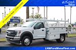 2021 Ford F-450 Regular Cab DRW 4x2, Royal Truck Body Contractor Body #21P355 - photo 1