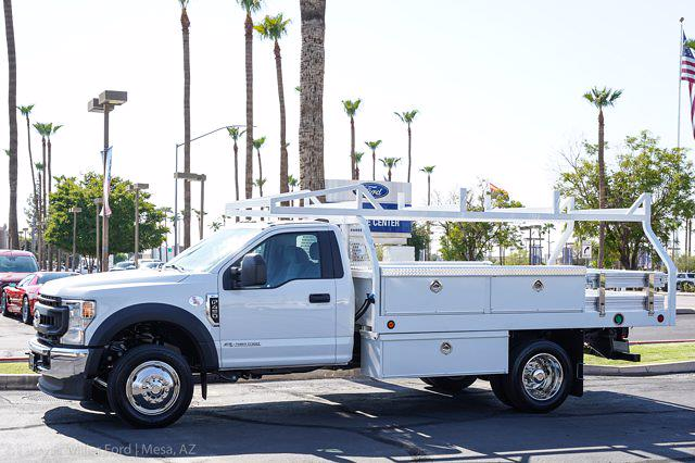 2021 Ford F-450 Regular Cab DRW 4x2, Royal Truck Body Contractor Body #21P356 - photo 3