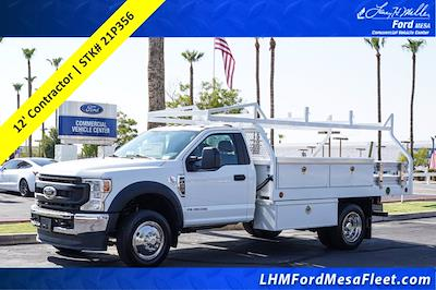 2021 Ford F-450 Regular Cab DRW 4x2, Royal Truck Body Contractor Body #21P356 - photo 1