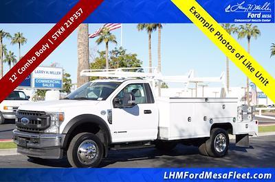 2021 Ford F-450 Regular Cab DRW 4x2, Royal Truck Body Service Combo Body #21P357 - photo 1