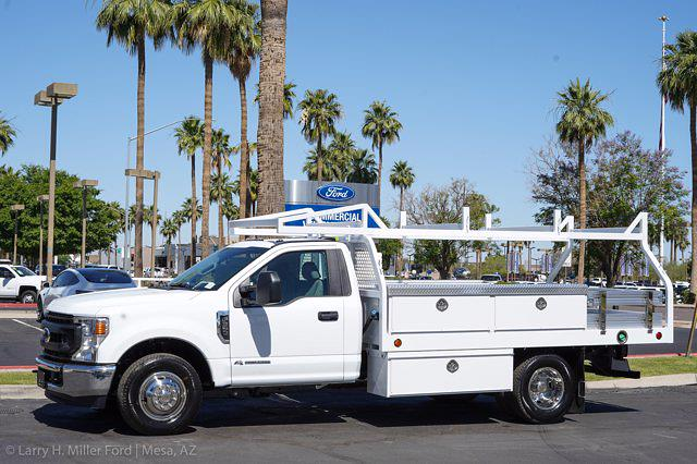 2021 Ford F-350 Regular Cab DRW 4x2, Royal Truck Body Contractor Body #21P359 - photo 3