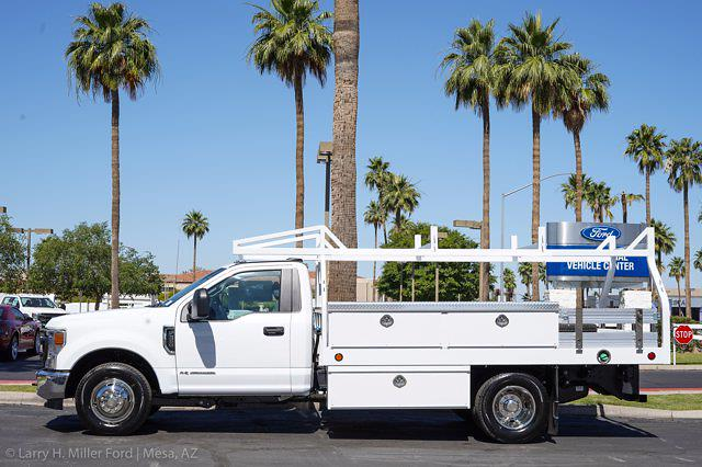 2021 Ford F-350 Regular Cab DRW 4x2, Royal Truck Body Contractor Body #21P359 - photo 2