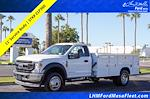 2021 Ford F-550 Regular Cab DRW 4x4, Royal Truck Body Landscape Dump #21P360 - photo 1