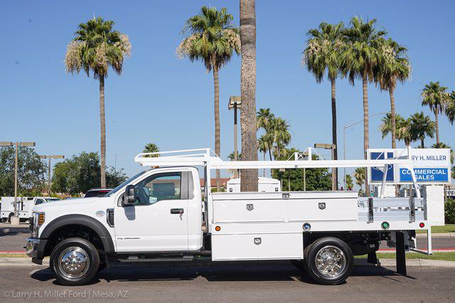 2021 Ford F-550 Regular Cab DRW 4x2, Royal Truck Body Contractor Body #21P365 - photo 2