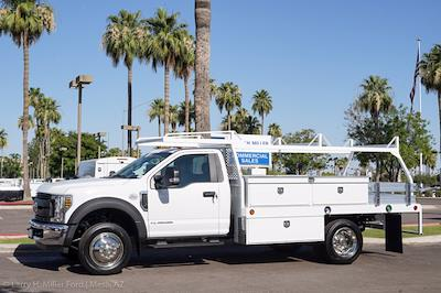 2021 Ford F-550 Regular Cab DRW 4x2, Royal Truck Body Contractor Body #21P365 - photo 3