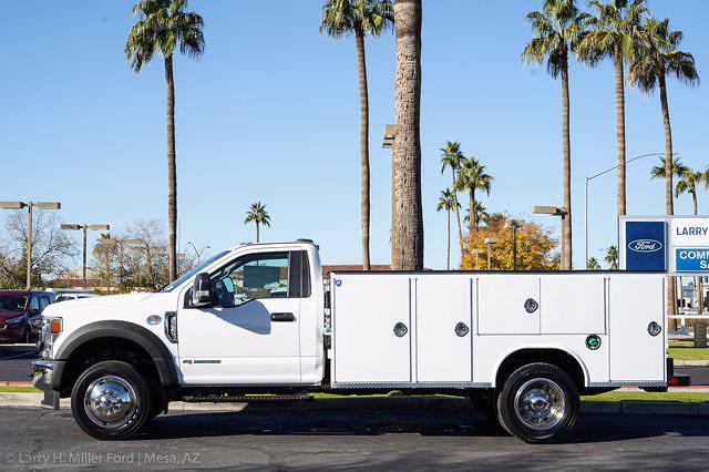 2021 Ford F-550 Regular Cab DRW 4x4, Royal Truck Body Service Body #21P367 - photo 2