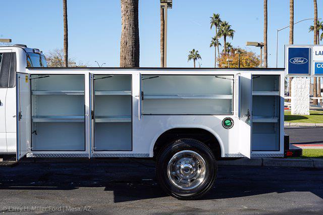 2021 Ford F-550 Regular Cab DRW 4x4, Royal Truck Body Service Body #21P367 - photo 6