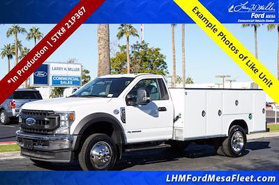2021 F-550 Regular Cab DRW 4x4,  Royal Truck Body Service Body #21P367 - photo 1