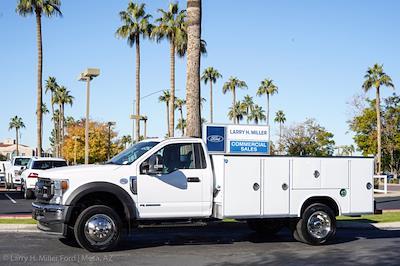 2021 Ford F-550 Regular Cab DRW 4x4, Royal Truck Body Service Body #21P367 - photo 3